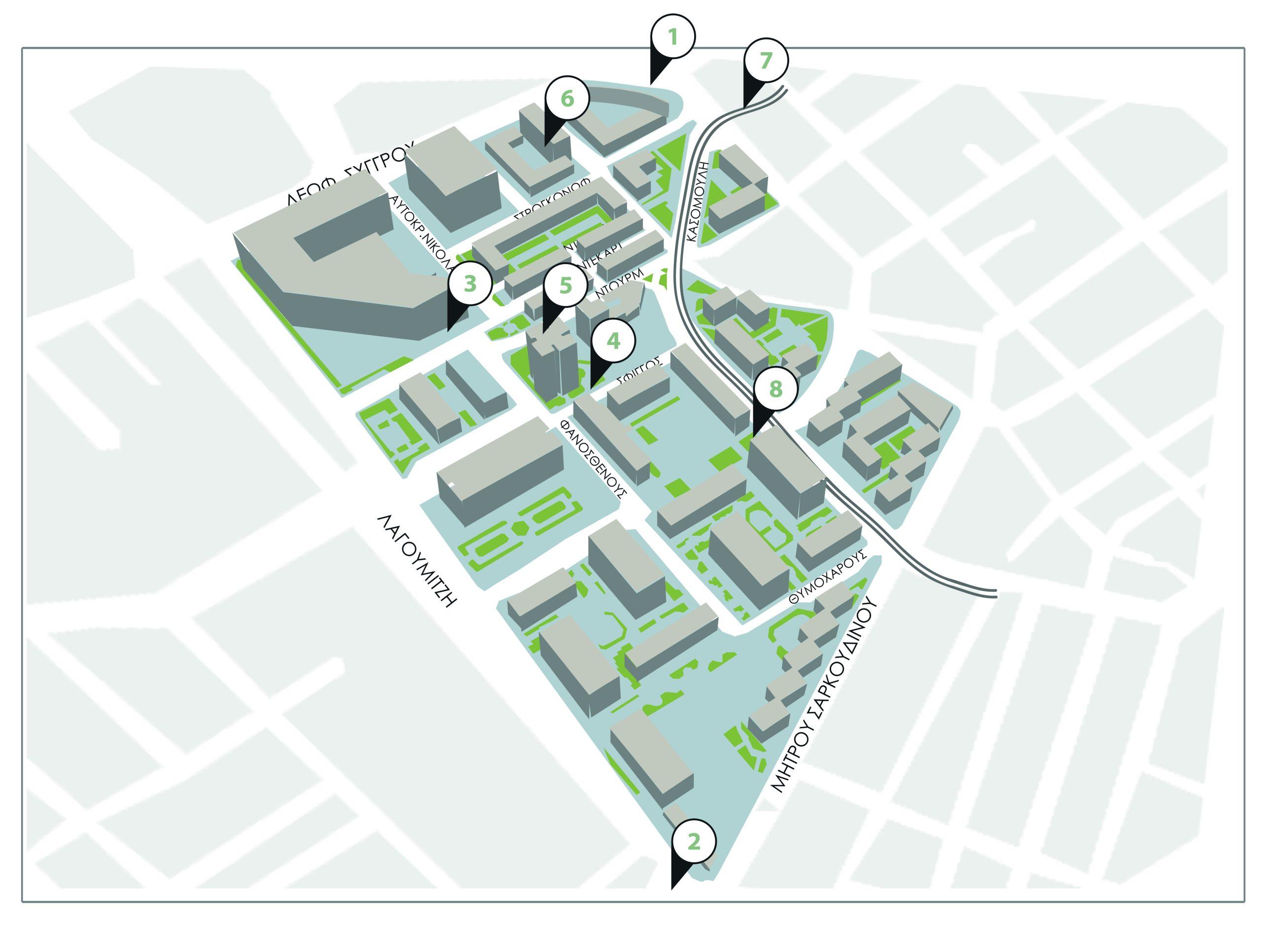 χάρτης καθημερινότητας dourgouti island hotel